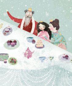 ARTIST:Lisa Evans TITLE: Snow Princess