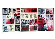 Year 13 folio 2014 Printmaking, Photo Wall, Boards, Teaching, Models, School, Artist, Painting, Planks