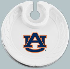 Auburn Tigers Box of 6 Plastic Party Plates Auburn Logo, Auburn Tigers, Alabama Vs, Stemless Wine Glasses, Drink Holder, Party Plates, Water Bottle, Eagle, Beer