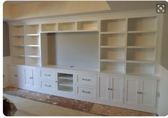 DIY Entertainment Center Ideas and Designs for Your New Home 7 - Living room tv wall - Bookshelf Entertainment Center, Home Entertainment Centers, Entertainment Ideas, Entertainment Products, Living Room Built Ins, Living Room Decor, Living Rooms, Bookshelves In Living Room, Home Theather