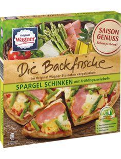 Wagner Pizza Die Backfrische Spargel Schinken