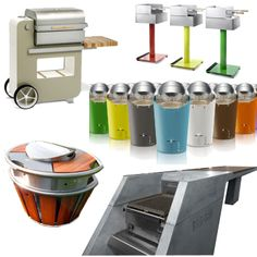 More new Modern Outdoor Grills and Barbeques