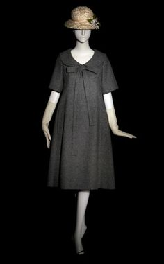 Yves Saint Laurent's 'Trapeze' line, his first collection for Dior in 1958