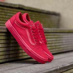 b3168c7f5ae9 Vans Old Skool (Mono) Crimson Port Royal