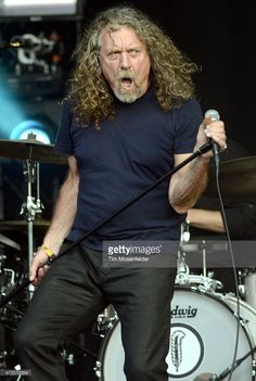 Robert Plant of Robert Plant and his Sensational Space Shifters performs during the 2015 Bonnaroo Music & Arts Festival on June 14, 2015 in Manchester, Tennessee.