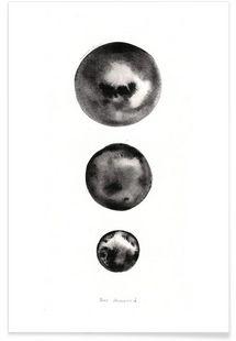 Der Mond - Marina Guiu - Affiche premium