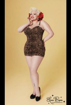 Pin Up Style for Curvy Girls
