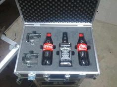 Personal emergency care package. #whiskey #jackdaniels #cocacola