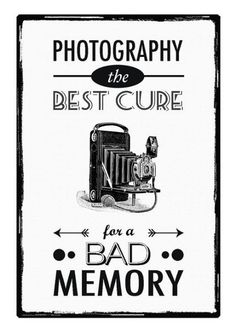 Photography Quotes : QUOTATION – Image : Quotes Of the day – Description Agh! I've been saying this for years. I think it's the main reason I got into photography! Sharing is Caring – Don't forget to share this quote ! Quotes About Photography, Camera Photography, Love Photography, Vintage Photography, Photography Business, Lifestyle Photography, Funny Posters, Quote Posters, Quote Prints