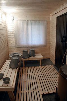 Sauna House, Sauna Ideas, Saunas, Cabins In The Woods, Cottage Homes, Modern Decor, Tiny House, Beach House, Home And Garden