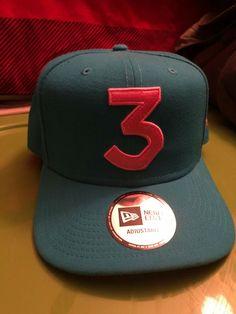 New Era Chance the Rapper 3 Limited Edition Blue Pink Snapback Hat CAP   fashion   47cda79029dc