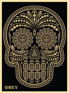"""""""Day of the Dead"""", is by the Obey / Studio Number One employee Ernesto Yerena."""