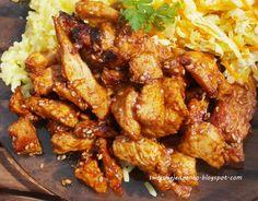 Swojskie jedzonko: Kurczak teriyaki-błyskawiczny,prosty i pyszny obia...