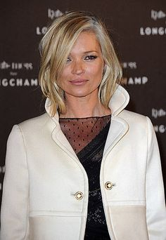 Hair cut // Kate Moss for Longchamp Party