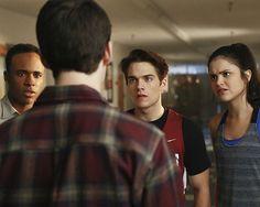 Teen Wolf - Season 6 new still - @MTVteenwolf: Does he even go here?  #TeenWolfTuesdays