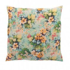 Ian Snow Hydrangea  Print Cushion Cover  || Shop now: www.wallacesacks.com