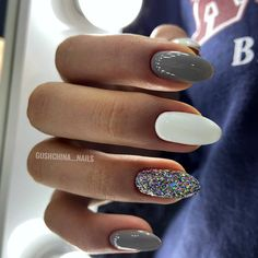 75 Pretty ways to have glitter nails 4 - Hair and Beauty eye makeup Ideas To Try - Nail Art Design Ideas