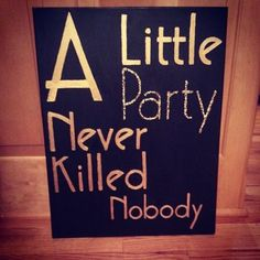 made this today for my dorm #diy #canvas #gatsbyfont