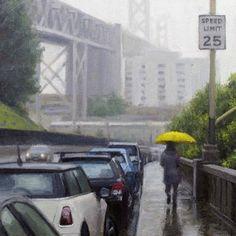 Yellow Umbrella by Joevic Yeban