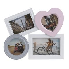 Photo Frame With 4 Sections - Frames Poliresin - FRAMES-ALBUMS - inart