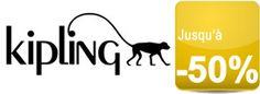 Les sacs Kipling de la collection d'hiver soldés jusqu'à -50%