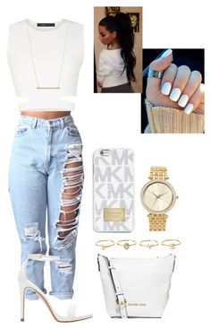 """Untitled #26"" by hopealexx on Polyvore featuring BCBGMAXAZRIA, Zara, MICHAEL Michael Kors, Michael Kors, Charlotte Russe and ASOS"