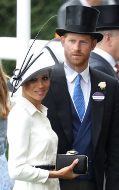 Duchess Meghan Markle Makes Royal Ascot Day Debut!: Photo Meghan, Duchess of Sussex and Prince Harry, Duke of Sussex have arrived for Royal Ascot Day at the Ascot Racecourse on Tuesday (June in Ascot, United Kingdom.
