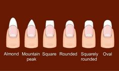 Know your nail shape!!!!