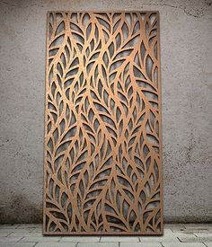 Miles and Lincoln - the UK& leading designer of laser cut screens for decorative interior panels, external architectural cladding, balustrades and ceilings Laser Cut Screens, Laser Cut Panels, Laser Cut Metal, Metal Panels, Laser Cutting, Fence Panels, Decorative Metal Screen, Decorative Panels, Metal Cortado A Laser