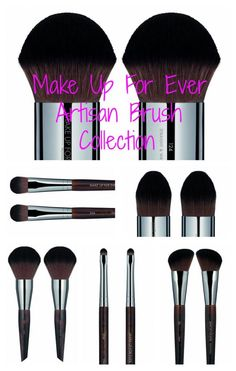 Pammy Blogs Beauty: Make Up For Ever: NEW Artisan Brush Collection and Atlanta Beauty Event this Weekend!!!