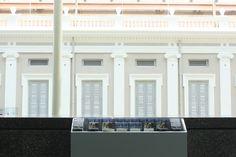 Singapore National Museum as beautiful architecture