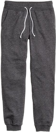 H&M Sweatpants - Dark gray
