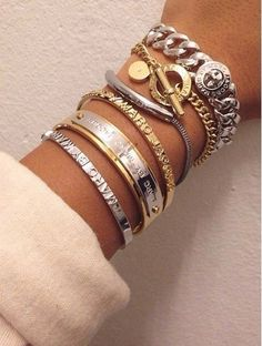 Marc by Marc Jacobs bracelets and bangles via Casually Fabulous