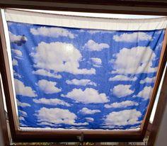 DIY Dachfenster-Sonnenschutz