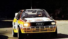 Rally Portugal 1984 Hannu Mikkola.