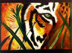 """Under Scrutiny"" by Renee Michelle Wenker  Soft pastels, 11 x 14"