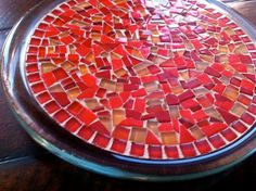 Mosaic Trivet Candle Holder Jewelry Holder by GreenStreetMosaics, $24.00