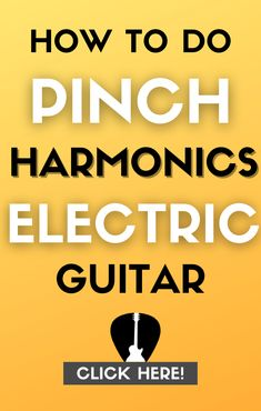 Learn how to do & use pinch/artificial harmonics on electric guitar to write better riffs & solos. The full guide to playing pinch harmonics. #guitar #music Lead Guitar Lessons, Free Online Guitar Lessons, Easy Guitar Songs, Guitar Tips, Types Of Guitar, Learn To Play Guitar, Guitar For Beginners, Music Theory, Playing Guitar