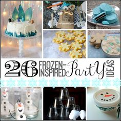 26 Frozen-Inspired Party Ideas
