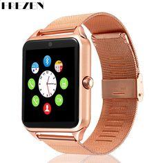 41f1235b096 FREZEN Smart Watch GT08 kello SIM-korttipaikkaan Push viesti  Bluetooth-liitäntä Android-puhelin Smartwatch GT08 PK DZ09 U8 V8
