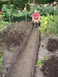 Exemple de plan potager potager jardin pinterest for Rendement permaculture