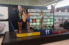 Sofía Arenas, medalla de plata en Nacional de Gimnasia Artística