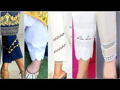 Top Trendy And Stylish Home Made Casual Trousers Designs Kurti Sleeves Design, Sleeves Designs For Dresses, Stylish Dress Designs, Stylish Dress Book, Stylish Dresses, Poncho Design, Kids Party Wear Dresses, Stylish Tops For Women, Pakistani Dresses Casual
