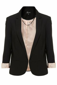 NEW Topshop Black Structured Blazer Jacket ASOS SOLD OUT 8 10 12 14 16 RRP £65 ♥ in Clothes, Shoes & Accessories | eBay
