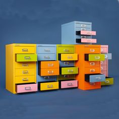 new Multidrawjrs by Bisley arrived at Oikos http://blog.oikos.gr/interior-design/multidrawers-bisley/