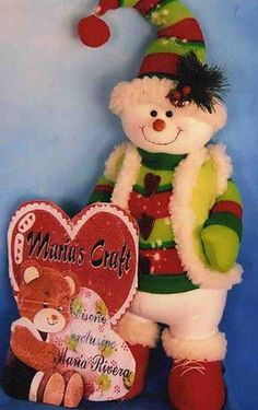 Muñeco de nieve feliz