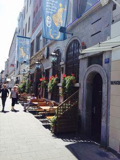 Straßen-Biergarten Kölsche Boor, #Köln #Eigelstein