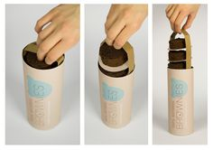 Brownies - for Young Package 2013 by Bettina Baranyi, #packaging #brownie