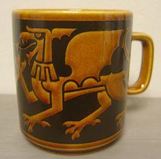 Unboxed Denby Pottery Mugs Date Range Denby Pottery, Hornsea Pottery, Pottery Mugs, Pottery Ideas, Ceramic Pottery, Glass Ceramic, Ceramic Cups, Dragon, Mug Shots