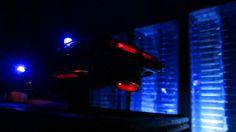 Corgi Toys Buick (Century) Regal Police Car No. 416 Converted Into A Futuristic Sci-Fi Hover Car : Diorama A Hover Police Car City Scene - 21 Of 98   by Kelvin64